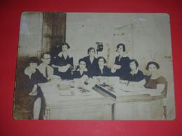 RR,Post Office Belgrade,Main Register Department,rare Postal Stamp-Glavna Zbirna Blagajna,original Photo,dim.15.7x11.3cm - Berufe