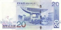 HONG KONG P. 335a 20 D 2003 UNC - Hong Kong
