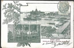 Port - Saïd Entrée Du Canal Et Bureaux De La Cie - Port Said