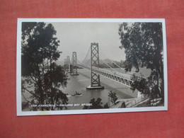RPPC  San Francisco  Oakland  Bay Bridge  - California > Oakland      Ref 5179 - Oakland