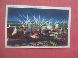 Night View  Battleships Searchlights     San Francisco  - California       Ref 5179 - San Francisco