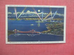 Night View Bay Metropolitian Area  Worlds Fair   San Francisco  - California       Ref 5179 - San Francisco