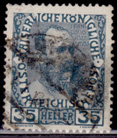 Austria 1908-1916, 35h, Sc#120, Used - Used Stamps