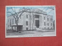 First Presbyterian Church  Junction City   Kansas      Ref 5180 - Unclassified