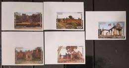 Cambodge Cambodia MNH Imperf Stamps 2008 : Preah Vihear Temple, The World Heritage / UNESCO / Flag - Cambodia