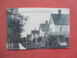 East Side Forsythe  Place  Fort Riley   Kansas      Ref 5180 - Unclassified