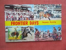 Bottom Left Corner Movable Hologram  Bucking Bronco -------  Frontier Days    Cheyenne Wyoming > Cheyenne      Ref 5180 - Cheyenne
