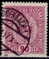 Austria, 1916,  Coat Of Arms, 90h, Used - Used Stamps