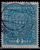 Austria, 1916, Coat Of Arms, 2kr, Used - Used Stamps