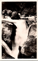 (3 A 15) Older Postcard - France - (b/w) Gorges Du Loup (waterfall) - Unclassified