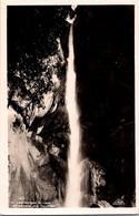 (3 A 15) Older Postcard - France - (b/w) Gorges Du Loup (waterfall) Cascade Des Gourmes - Unclassified