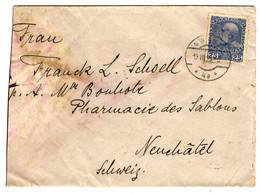 52274 - DE WIEN  POUR LA SUISSE - Covers & Documents