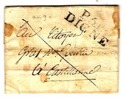 52286 - P 5 P DIGNE - 1801-1848: Precursori XIX