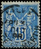 -Sage N°101.. Type II  Ob  ( CAD ) .LILLE PLACE ST MARTIN.  1898. - 1876-1898 Sage (Type II)