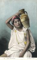 Jeune Fille Kabyle Porteuse D'eau Colorisée RV - Women