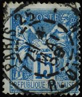 -Sage N°101.. Type II  Ob  ( CAD ) .PARIS R DANTON 1899.( Bur 25 ) - 1876-1898 Sage (Type II)