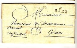 52305 - 5 RIEZ - 1801-1848: Precursori XIX