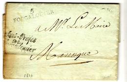 52306 - 5 FORCALQUIER / Sous Préfet - 1801-1848: Precursori XIX