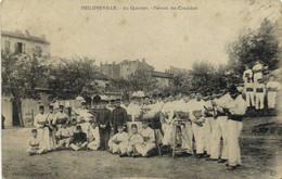 PHILIPPEVILLE  Au Quartier Peloton Des Candidats RV Cachet Oeuvre Des Jeux Du Soldat Section Philippeville - Skikda (Philippeville)