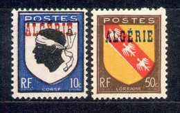 Algerien Algerie 1945 - Michel Nr. 241 - 242 ** - Ongebruikt