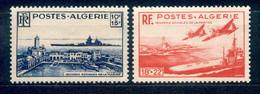 Algerien Algerie 1949 - Michel Nr. 280 - 281 * - Ongebruikt