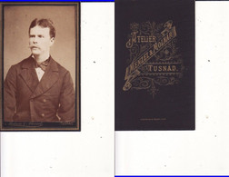 Romania,Rumanien,Roumanie   - Old Photo -CDV,  Cabinet Photo Menzel&Molnar,Tusnad - Oud (voor 1900)