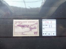 France Frankrijk Poste Aerienne Vlug Neuf ** Mnh Parfait Numero 7 - 1927-1959 Mint/hinged