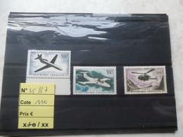 France Frankrijk Poste Aerienne Vlug Neuf ** Mnh Parfait Numero 35/37 - 1927-1959 Mint/hinged
