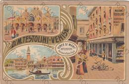 CARTOLINA  VENEZIA,VENETO,MAISON TESTOLINI,BELLA ITALIA,RELIGIONE,CULTURA,GONDOLE,STORIA,MEMORIA,IMPERO,NON VIAGGIATA - Venezia