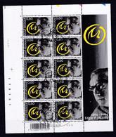 Feuillet Complet 3282 Bd Bande Dessinée émission Commune Avec La France Blake & Mortimer Liège - Used Stamps