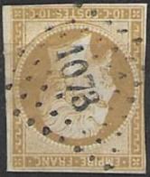 TP13,obl.PC1073,Dampierre Sur Salon(HAUTE-SAONE),ind.5 - 1849-1876: Période Classique
