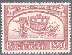 PORTUGAL   SCOTT NO 745   USED   YEAR  1952 - Usado