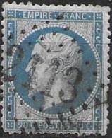 TP22,obl.GC2113,Lucenay L'Eveque(SAONE ET LOIRE),ind.5 - 1849-1876: Periodo Clásico