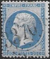 TP22,obl.GC3370,Semur Du Brionnais(SAONE ET LOIRE),ind.5 - 1849-1876: Periodo Clásico
