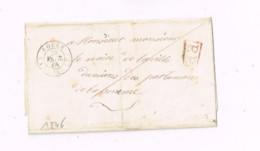 Précurseur De Rouen à Amiens. - 1801-1848: Precursori XIX