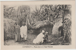 Cameroun :  Repas  Dans Un Vilage  Haoussa - Cameroon