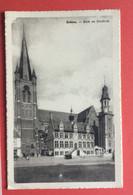 Eeklo -  Kerk - En Stadhuis -  Verzonden - Eeklo