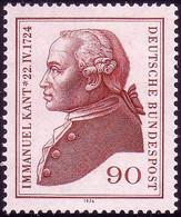 806 Immanuel Kant ** Postfrisch - Sin Clasificación