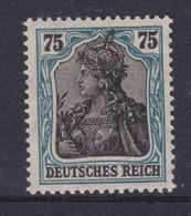 DR MiNr. 104d ** Gepr. Attest (früher 104bF) - Unused Stamps