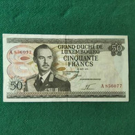 Lussemburgo 50 Francs 1972 - Luxembourg