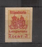 10674- Longarone  Occupazione Austriaca Del Friuli Veneto 1918 Recapito Autorizzato Non Emessi - Other