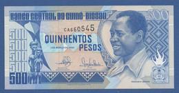 GUINEA-BISSAU - P.12 – 500 Pesos 01.03.1990 UNC Serie CA660545 - Guinea–Bissau