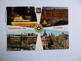 MADRID  -  Multivues  -   ESPAGNE - Madrid