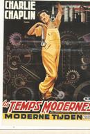 CPM, Th. Ciné ,N°E.36 ,Les Temps Modernes , Charlie Chaplin ( 1936) Ed. F. Nugeron - Posters Op Kaarten