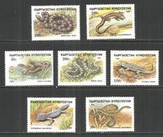 Kyrgyzstan 1996 Year, Mint Stamps MNH (**)  Snake - Kyrgyzstan