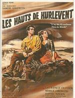 CPM, Th. Cinéma ,N°E.47 ,Les Hauts De Hurlement , L. Olivier, M. Oberon , D. Niven , Réal. W. Wyler ,Ed. F. Nugeron - Posters Op Kaarten