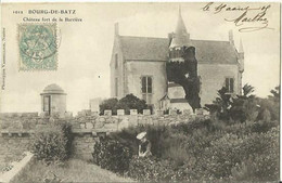 CPA De BOURG DE BATZ - Château Fort De La Barrière. - Batz-sur-Mer (Bourg De B.)
