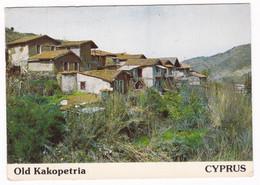 Jolie CPM Coul. Chypre Kakopetria1982 - Cyprus