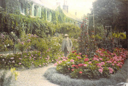 27 - Giverny - Claude Monet Devant Sa Maison - Otros Municipios