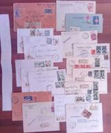 Lotto  O -  50 Buste Storia Postale Italia - Sammlungen